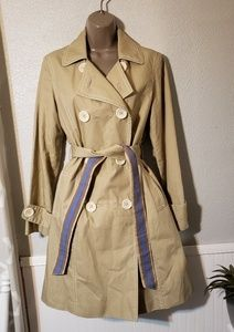 Boden beautiful double breasted trench coat sz 12